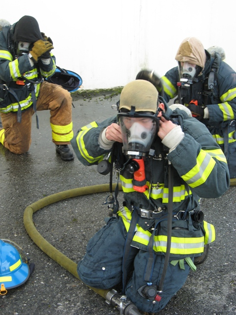 Cadet Training SCBA