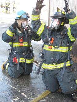Cadet Training Fire Attack