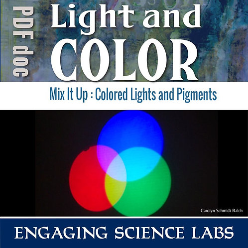 Light and Color Experiments: Primary Colors of Light and Pigment