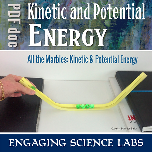 Forms of Energy: Potential and Kinetic Energy Transforming and Transferring