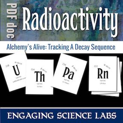 Radioactive Decay: Track Sequence of Alpha & Beta Radiation—A Card Sort Activity