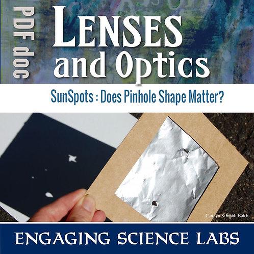 Light and Optics: Make A Pinhole Projector to Study Optics