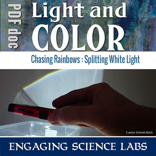 Light and Color Experiments: Making Rainbows from White Light