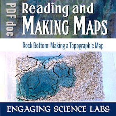 Topographic Maps: Use a Model Landscape to Draw Contour Intervals on Your Map