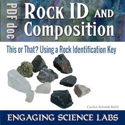 Rocks and Minerals Identification: Dichotomous Key Lab