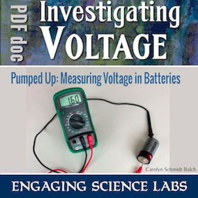 Electric Circuits Activity—Measuring Voltage of Batteries