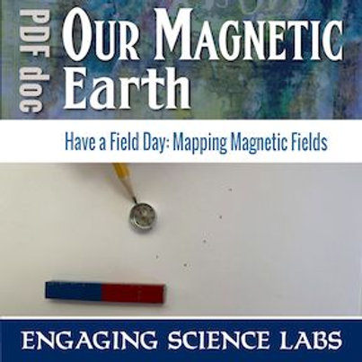 Magnets! Investigation to Map Lines of Flux: Visibly See Them Attract or Repel