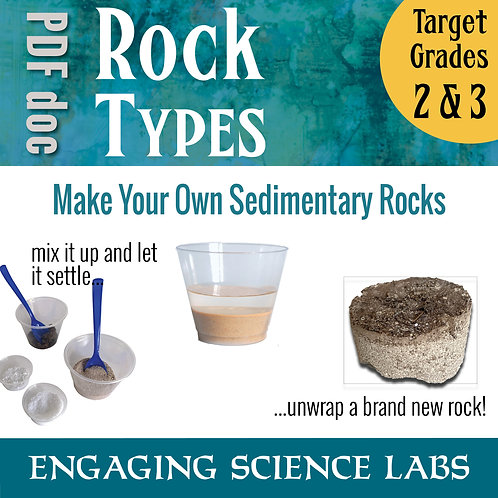 Rocks and Minerals: Model the Process of how Sedimentary Rocks form