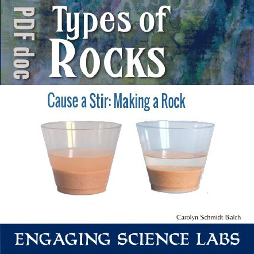 Rocks and Minerals: Model Sedimentary Rock Formation