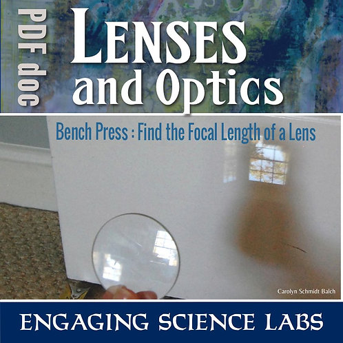 Convex Lenses: Focal Length and Optics Science Experiment