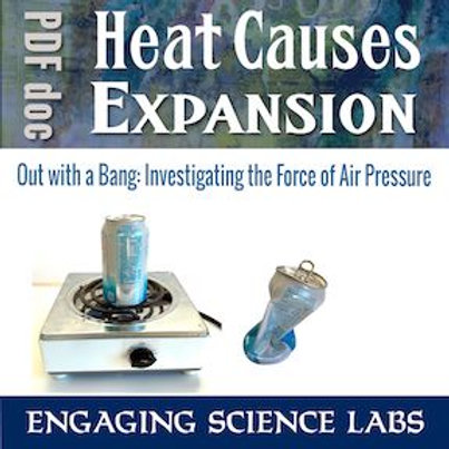 Air Pressure: Demonstrating the Intense Force of Air Pressure.