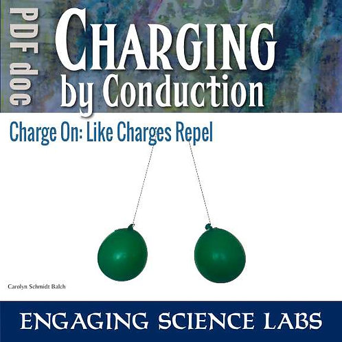 Static Electricity Experiment: Like Charges Repel