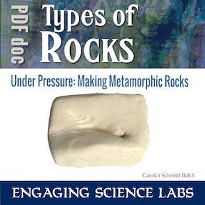 Model Metamorphic Rock Formation