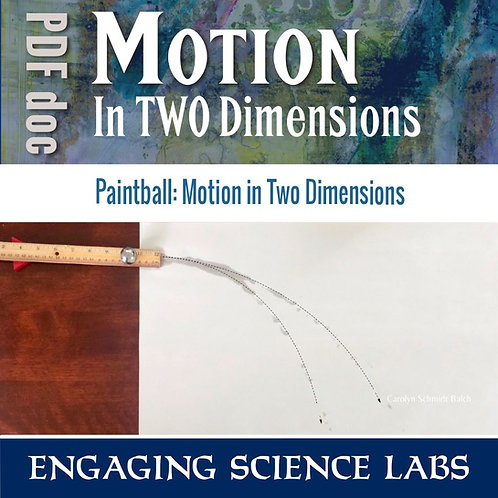 Force and Motion Study: Motion in Two Dimensions | Make a Parabolic Path Visible