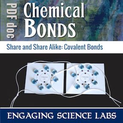 Covalent Bonding: Show Shared Electrons and Multiple Bonds. A Hands-On Activity