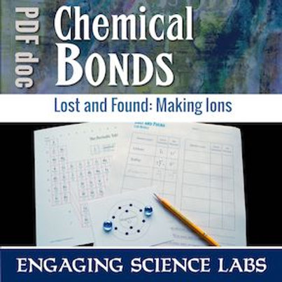 Ions and Atoms: Making Ions from Atoms, A Hands-On Activity Using Manipulatives