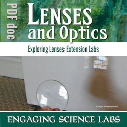 Optics: Measure a Lens' Focal Length; Explore Concave Lenses