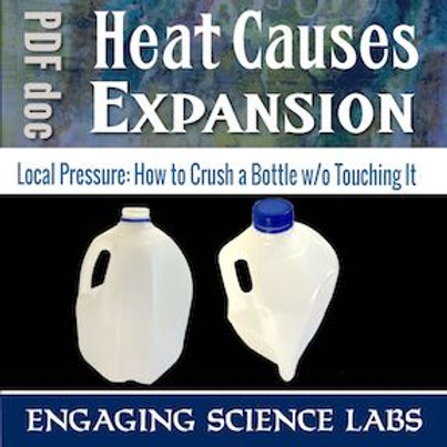 Air Pressure: Heat Causes Air to Expand | An Activity to Show this Phenomenon