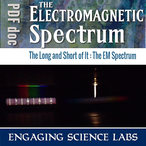 Light and Color Experiments: Electromagnetic Spectrum, Using Spectroscopes