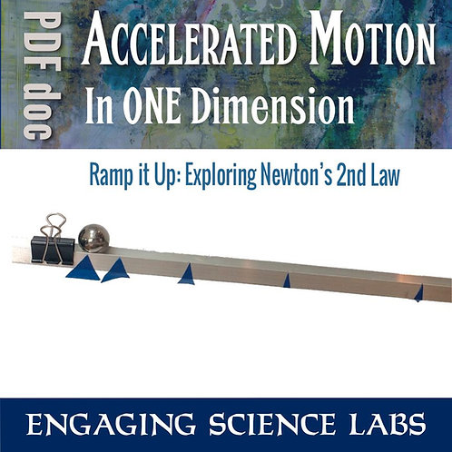 Newtons Laws of Motion: 2nd Law—Acceleration | Motion and Graphing Lab