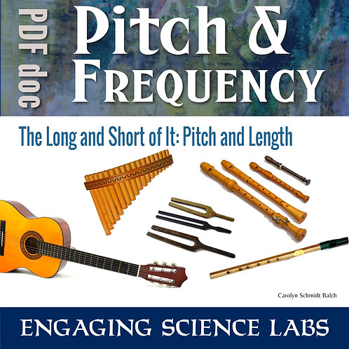 Sound Waves: Pitch is Related to Length of Instruments