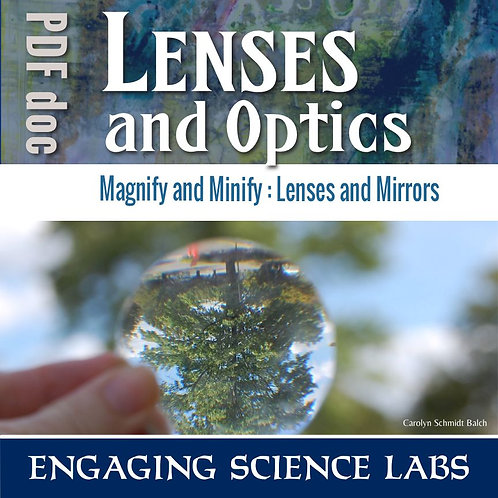 Convex and Concave Lenses: Science Experiment on Optics