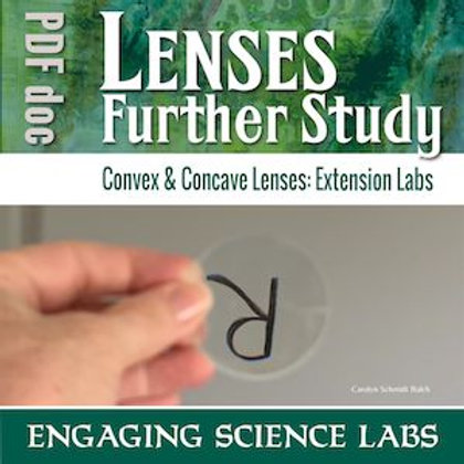 Light and Optics: Investigating Convex and Concave Lenses—3 Labs