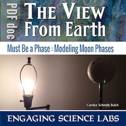 Moon Phases Activity: An Interactive Model; including Solar and Lunar Eclipses