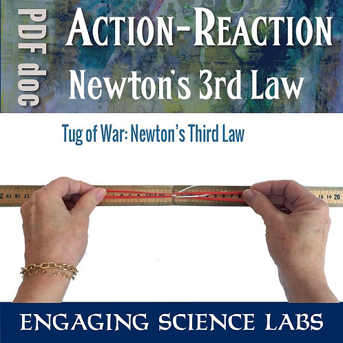 Force and Motion: Action Reaction Demo in the Lab and Real Life