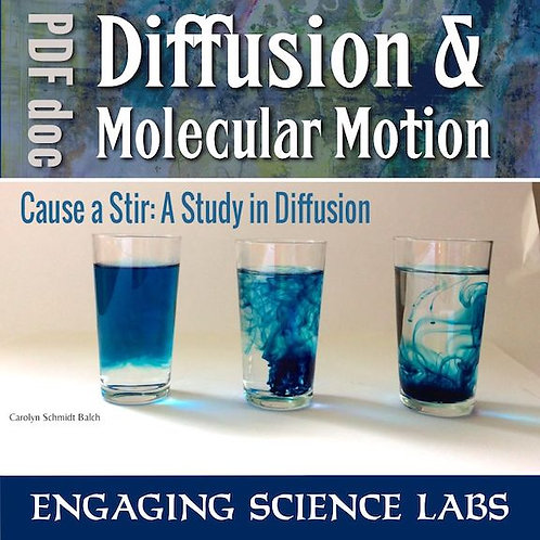 Diffusion Lab: How Diffusion Changes with Temperature