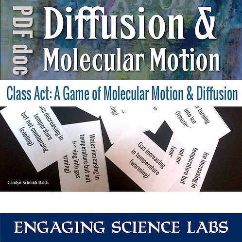 Diffusion and Osmosis Lab: A Role-Playing Game