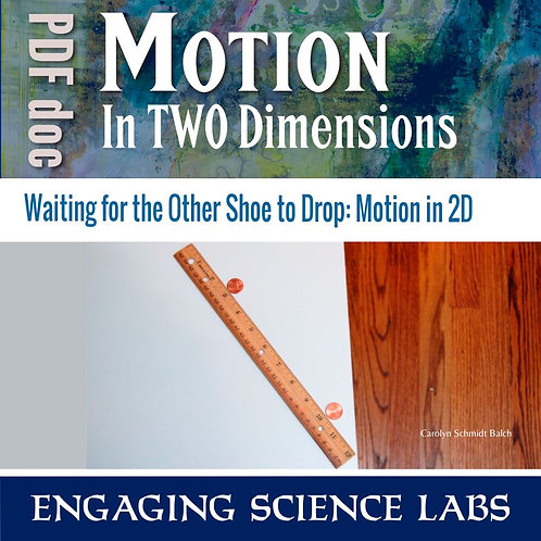 Force and Motion Study: Motion in Two Dimensions | Projectile Motion
