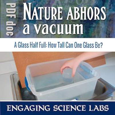 Air Pressure: Why Nature Abhors a Vacuum