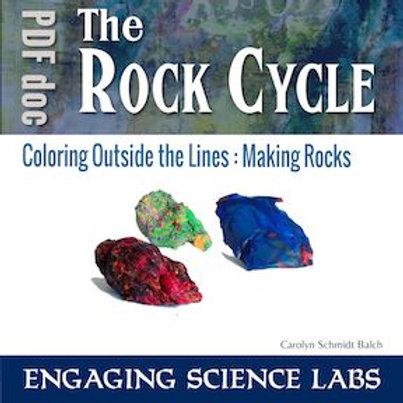 Rock Cycle Activity: Igneous, Metamorphic and Sedimentary Rocks Crayon Models