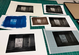 Cyanotype_albumen image print