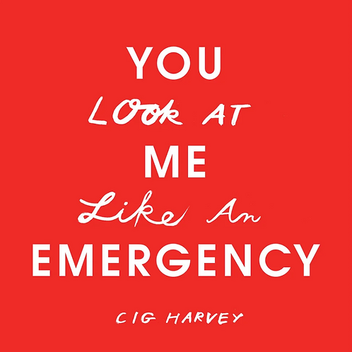 You Look At Me Like An Emergency by Cig Harvey