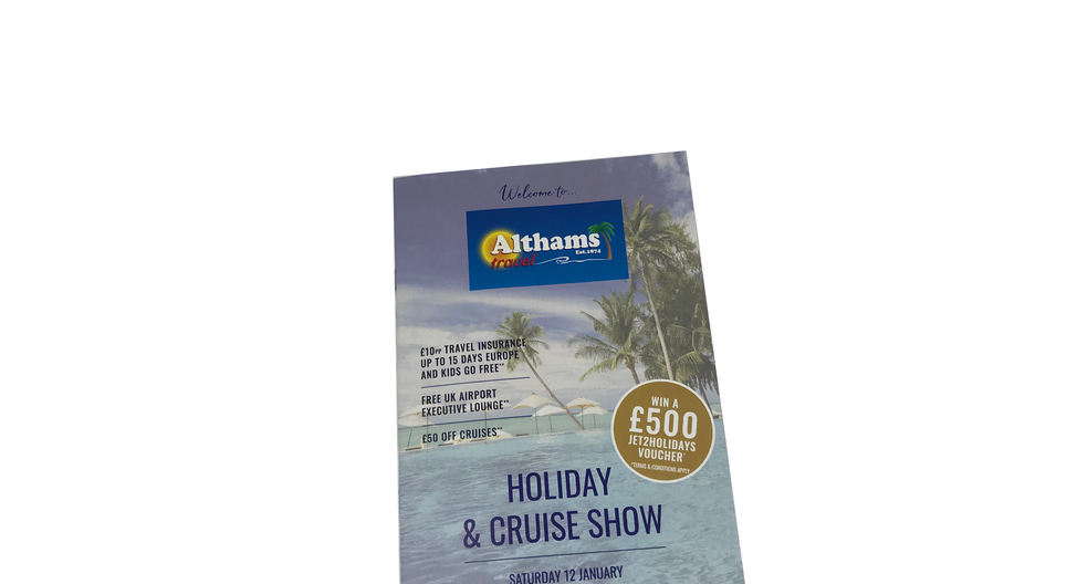 Althams Holiday & Cruise Show