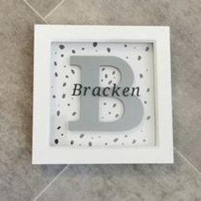 Letter in Frame