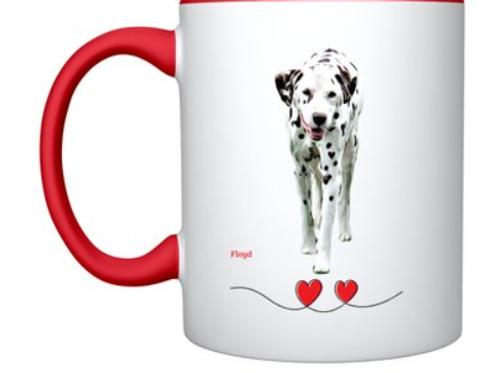 Love Me, Love My Spot Mug, Liver Spotted