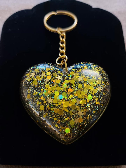 Heart or Initial Keyrings
