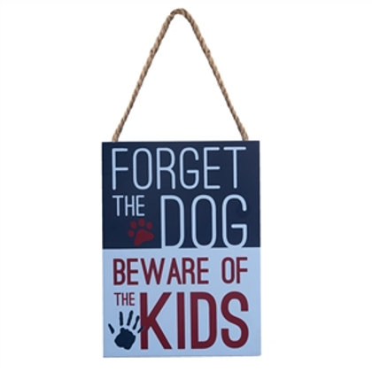 Forget the Dog Sign