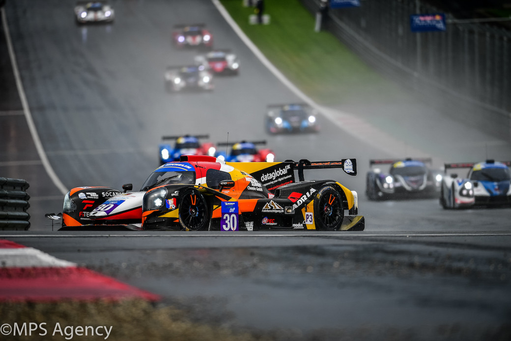 En tête de la course, Michelin Le Mans Cup Red Bull Ring 2018