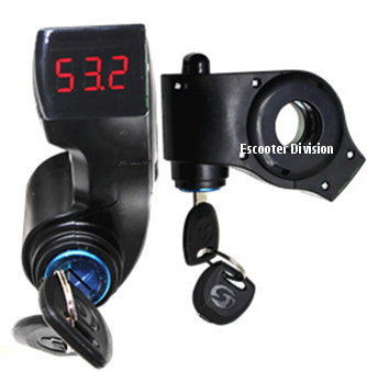 Key Ignition with Volt Meter