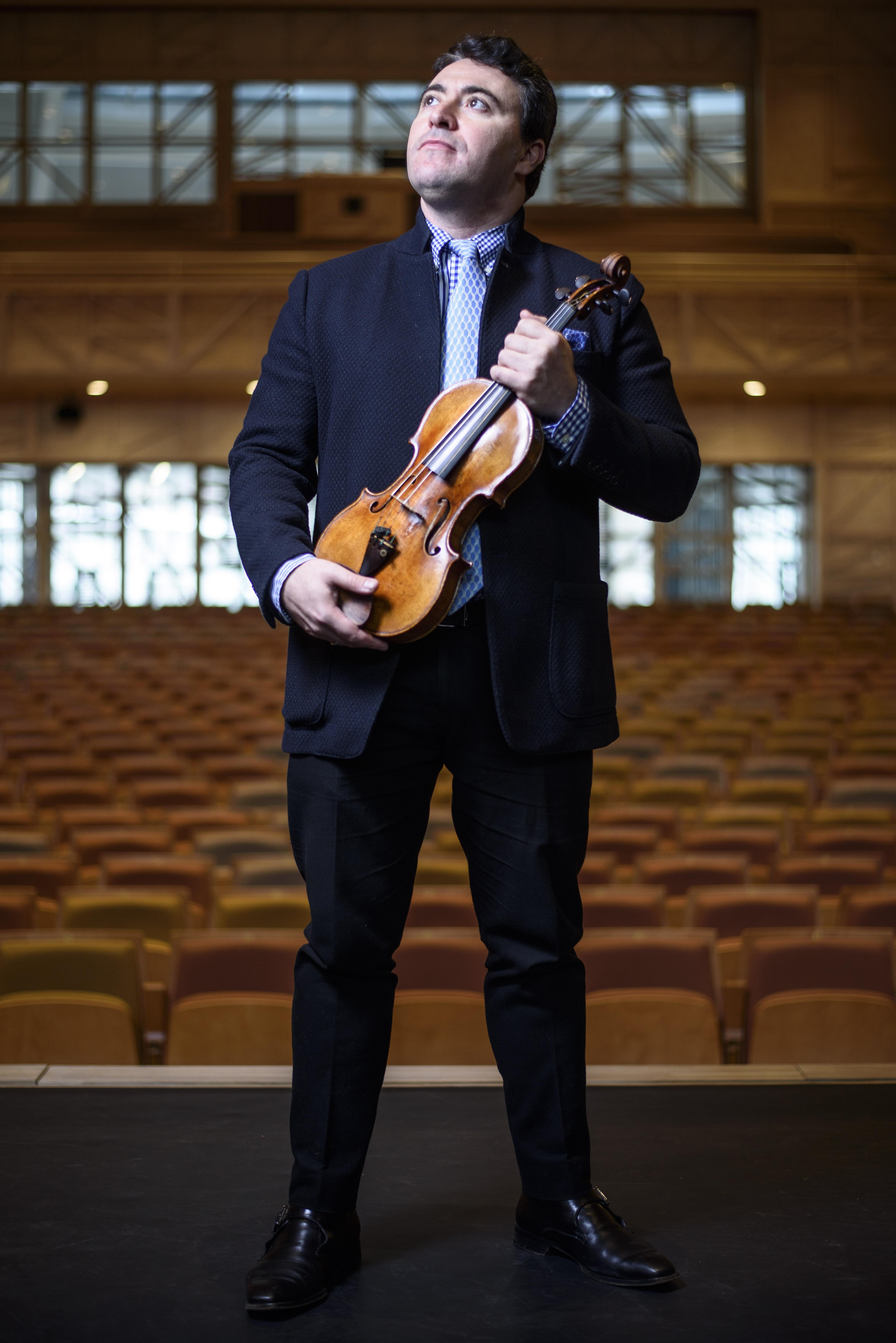 Maxim Venguerov, violoniste virtuose
