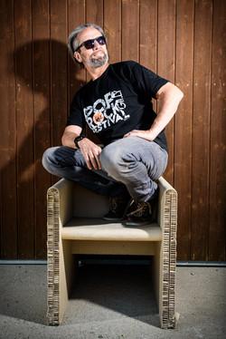 Gianni Marchi, président du Poprock.