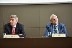 Thomas Bach, président CIO et
