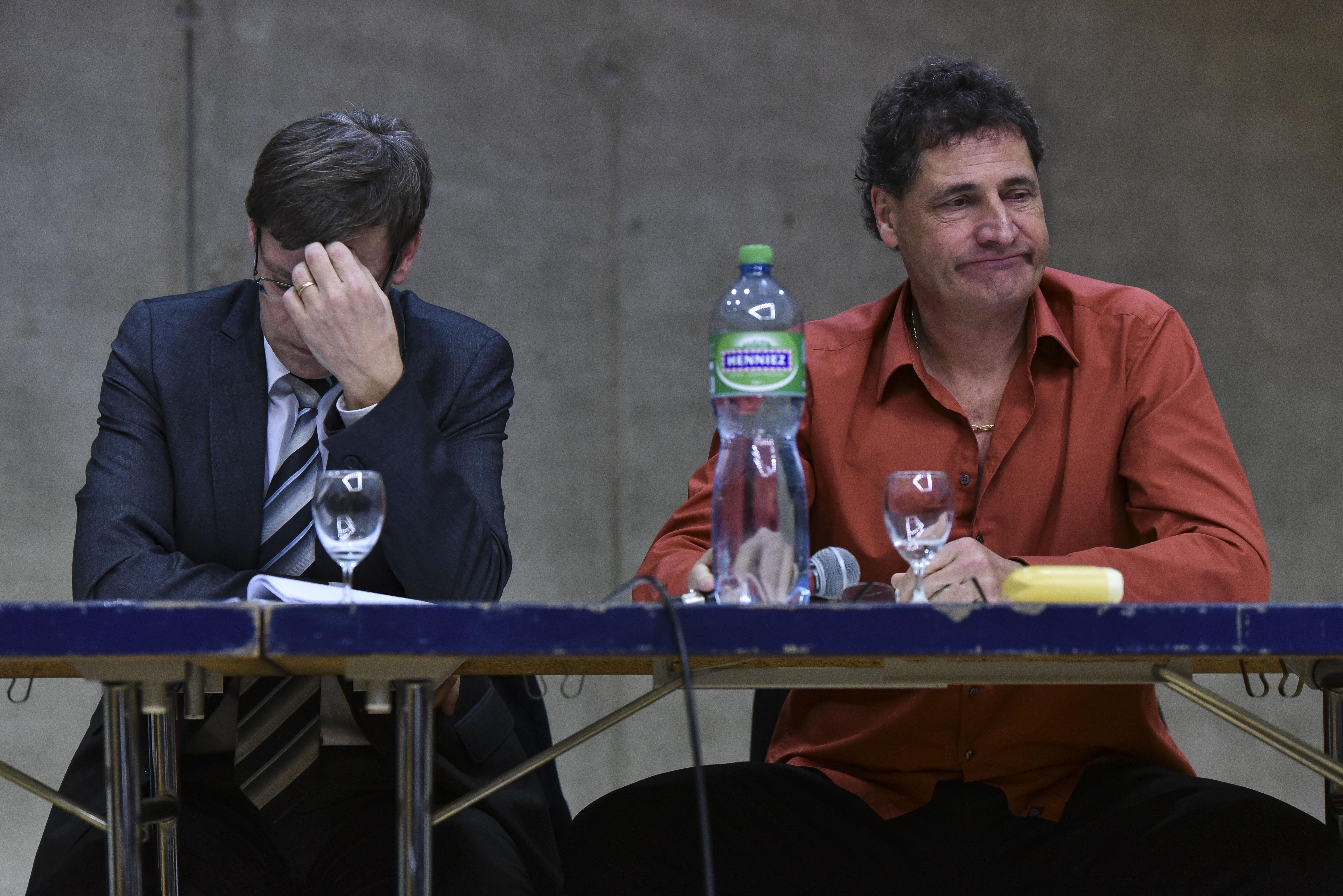 Daniel Collaud et Thierry Genoud,