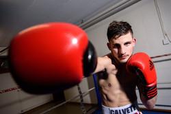 Julian Calvete, boxeur.