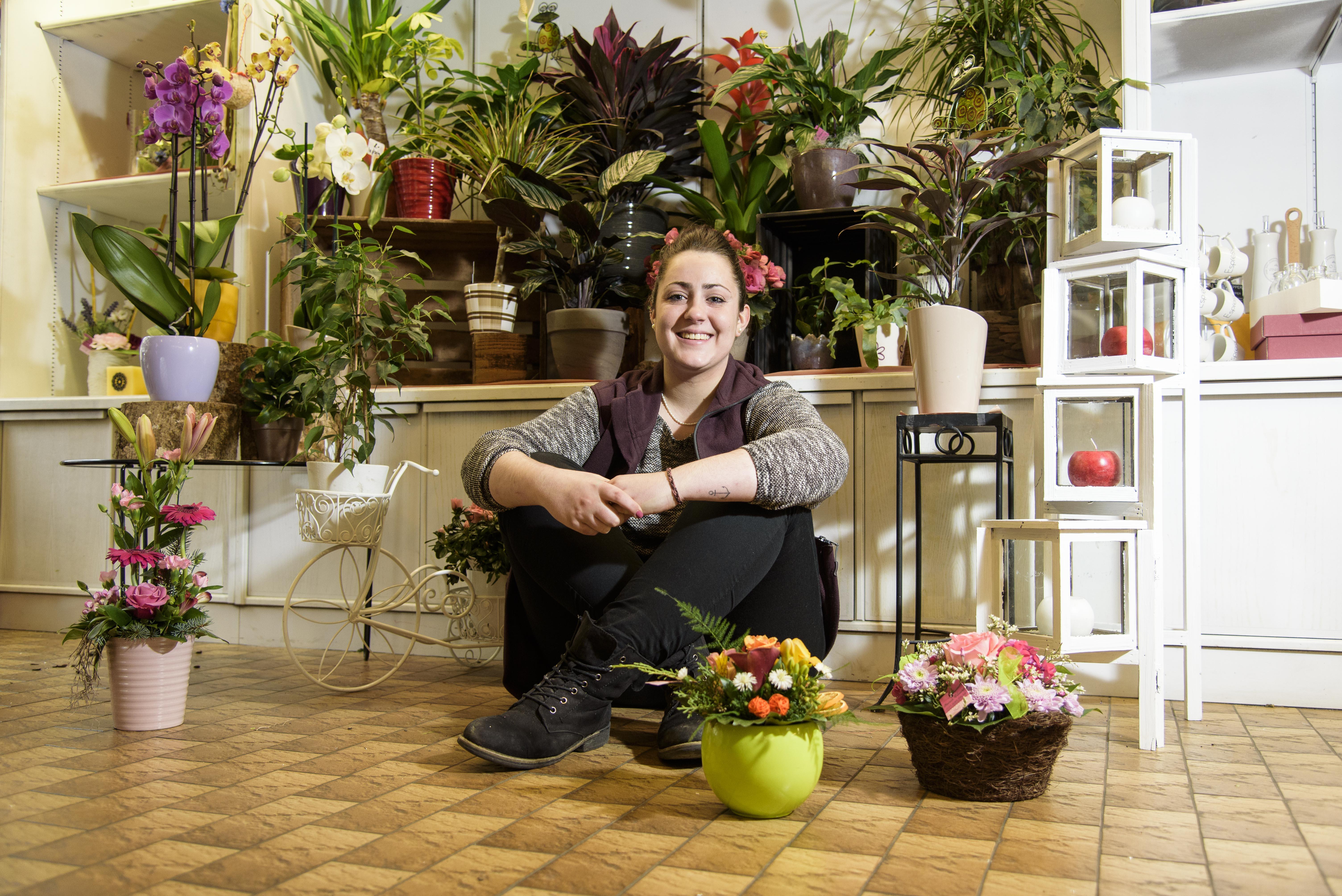 Angelica Gattobigio, fleuriste