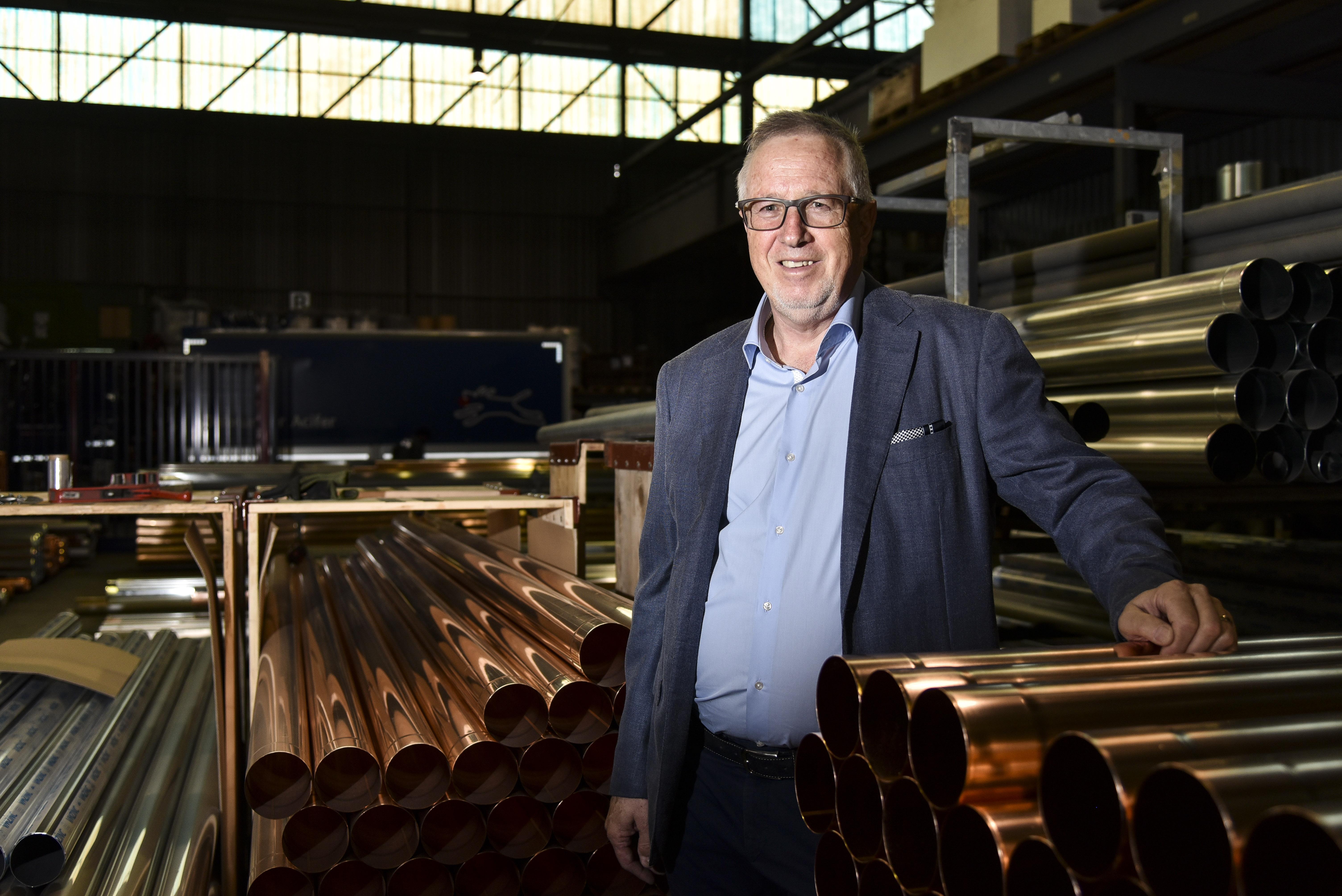Michel Lapaire, entrepreneur